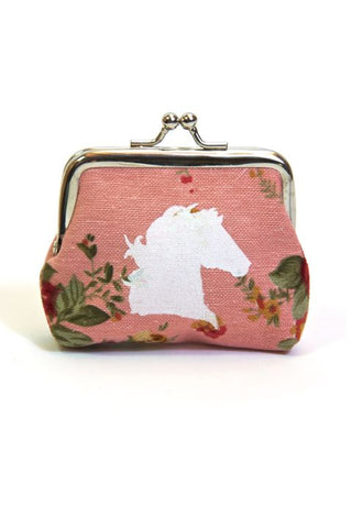 Spiced Equestrian Coin Purse