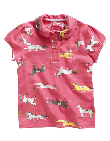 Joules Lena Pink Polo -Junior