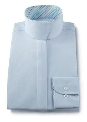 RJ Classic Show Shirt - Light Blue Ladies