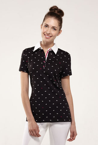 ASMAR Polka Dot Pony Polo
