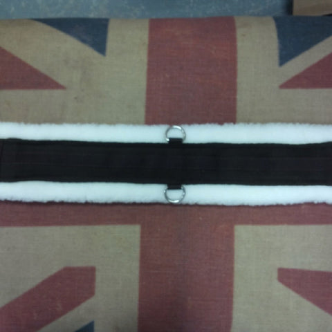 Fleece Lined Double D-ring girth