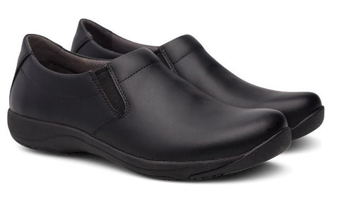 Dansko Ellie in Black Leather - Pair