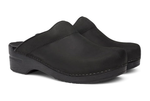 Dansko Karl in Black Oiled Leather - Pair