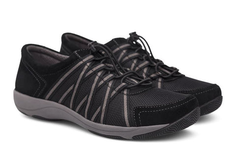Dansko Honor in Black / Black Suede - Pair