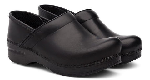 Dansko Wide Pro in Black Cabrio - Pair