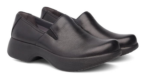Dansko Winona in Black Milled Nappa - Pair