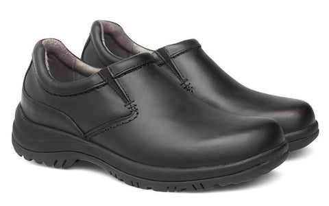 Dansko Wynn in Black Smooth - Pair