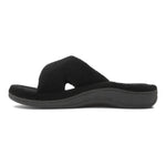 Vionic Relax Slipper in Black - Inside View