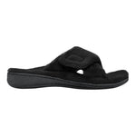 Vionic Relax Slipper in Black - Outside View