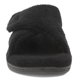 Vionic Relax Slipper in Black - Front View
