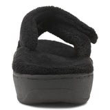 Vionic Relax Slipper in Black - Rear View
