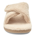 Vionic Relax Slipper in Tan - Front View