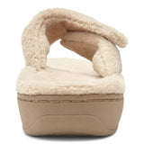 Vionic Relax Slipper in Tan - Rear View