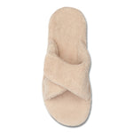 Vionic Relax Slipper in Tan - Top View