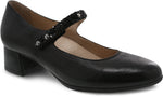 Dansko Pearlina in Black Burnished Nubuck - Right 3/4 View