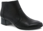 Dansko Petra in Black Burnished Nubuck - Right 3/4 View