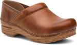 Dansko Wide Pro in Honey Distressed - Right 3/4 View