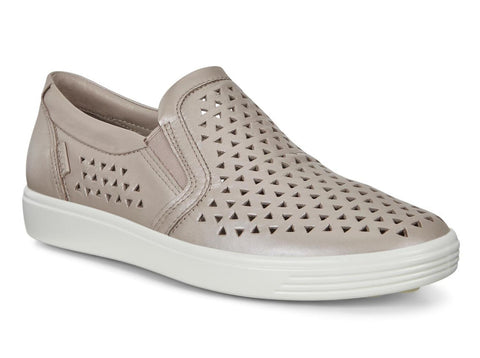 Ecco Women's Soft 7 Laser Cut Slipon