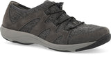 Dansko Holland in Charcoal Suede - Right 3/4 View