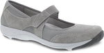 Dansko Hennie in Grey Suede - Right 3/4 View