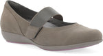 Dansko Kendra in Taupe Milled Nubuck - Right 3/4 View