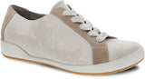 Dansko Olisa in Sand Printed Canvas - Right 3/4 View