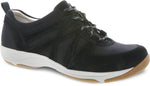 Dansko Hatty in Black Suede - Right 3/4 View