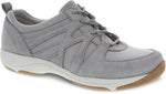 Dansko Hatty in Grey Suede - Right 3/4 View