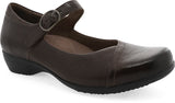 Dansko Fawna in Chocolate Burnished Calf - Right 3/4 View