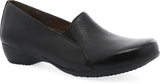 Dansko Farah in Black Leather - Right 3/4 View