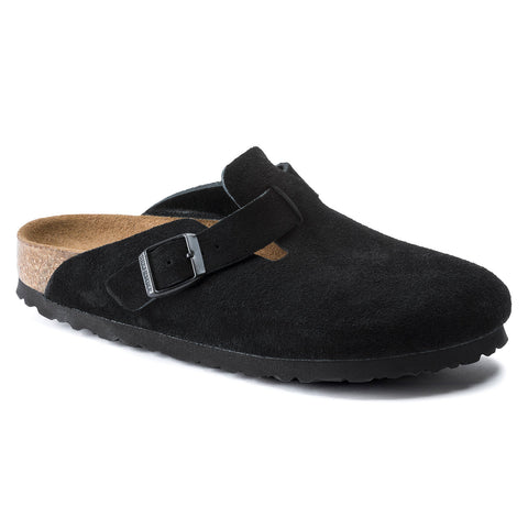 Birkenstock Boston Soft Footbed - Suede