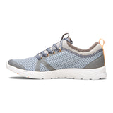 Vionic Alma Active Sneaker in Grey and Blue - Inside View
