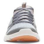 Vionic Alma Active Sneaker in Grey and Blue - Front View
