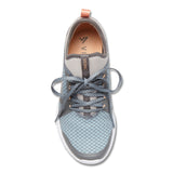 Vionic Alma Active Sneaker in Grey and Blue - Top View