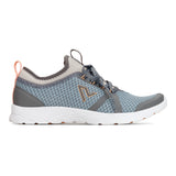Vionic Alma Active Sneaker in Grey and Blue - Outside View