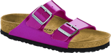 Birkenstock Arizona in Electric Metallic Magenta