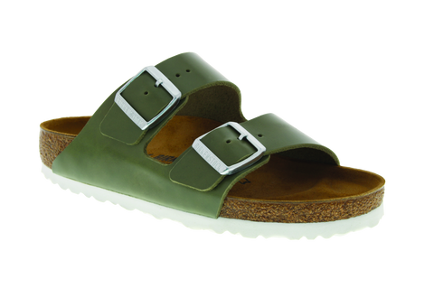 Birkenstock Arizona in Khaki Leather
