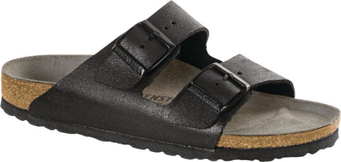 Birkenstock Arizona Classic Footbed - Washed Metallic Leather