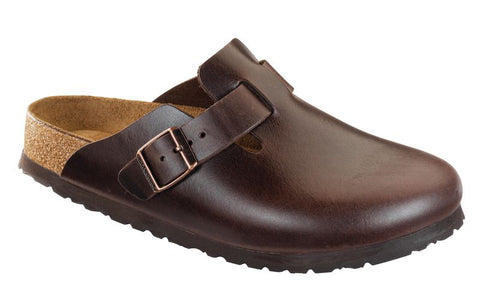 Birkenstock Boston Soft Footbed - Leather