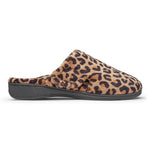 Vionic Gemma Slipper in Natural Leopard - Outside View