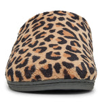 Vionic Gemma Slipper in Natural Leopard - Front View