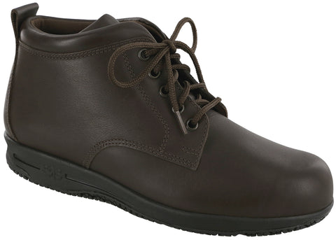 SAS Gretchen in Dark Brown Leather