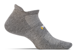 Feetures High Performance Ultra Light No Show Tab in Heather grey