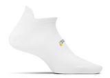 Feetures High Performance Ultra Light No Show Tab in White