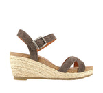 Taos Hey Jute in Grey Suede - Outside View
