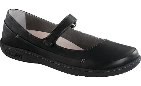 Birkenstock Iona in Black Leather