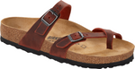 Birkenstock Mayari in Earth Red Oiled Leather