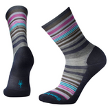 Smartwool Women's Jovian Stripe in Deep Navy / Mauve Heather