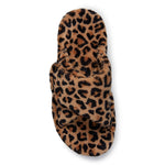 Vionic Relax Slipper in Natural Leopard - Top View