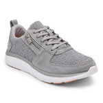 Vionic Remi Casual Sneaker in Slate Grey - Right 3/4 View